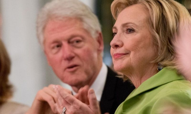 Bill dan Hillary Clinton (Foto: The Guardian)