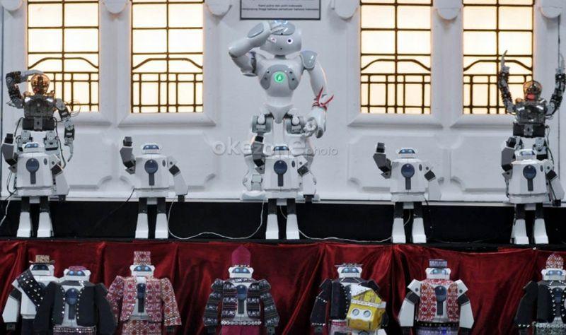 Nonton Robot Main Sepak Bola di UMY