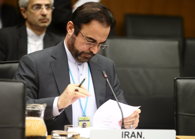 Utusan Khusus Iran untuk IAEA Reza Najafi. (Foto : Reuters)