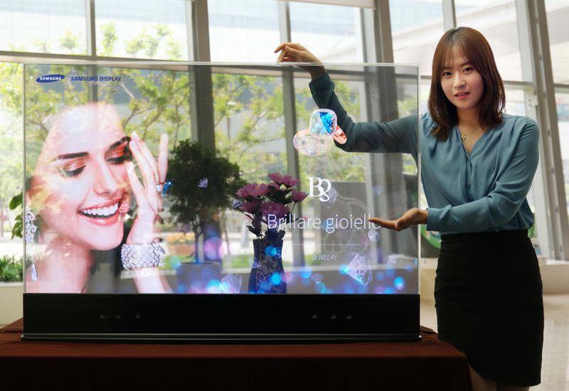 Samsung Hadirkan Cermin Pintar Transparan