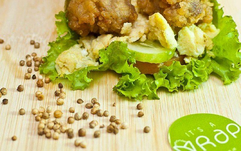 It's A Wrap merupakan inovasi fast food sehat dari mahasiswa Prasetiya Mulya Business School. (Foto: Instagram It's A Wrap)