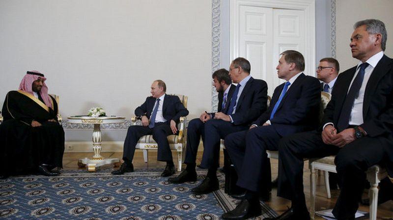 Presiden Rusia bertemu Menhan Arab Saudi bahas kesepakatan nuklir (Foto: Reuters)