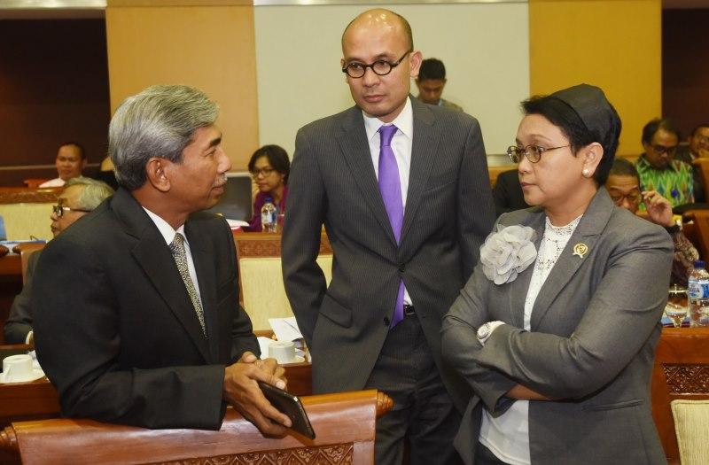 Menteri Luar Negeri Retno Marsudi (kanan) (Foto: Antara)