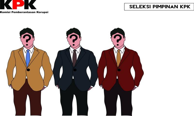 Image result for Ilustrasi Calon pimpinan KPK