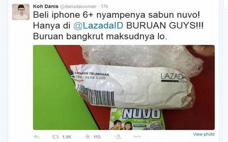 Kasus iPhone 6 Jadi Sabun, Lazada Sebut Akibat Human Error