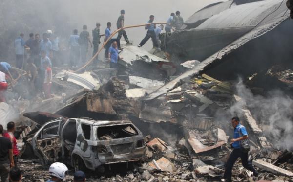 Wanita Tangguh di Balik Evakuasi Korban Hercules C-130