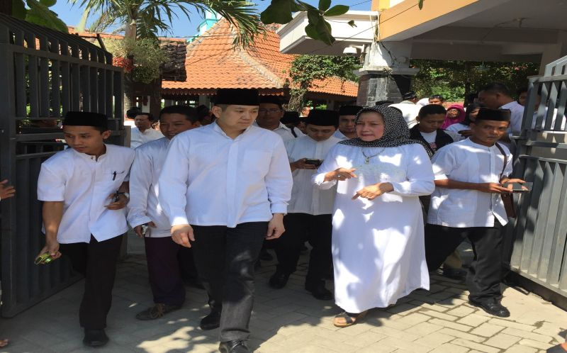 Ketum Perindo, Hary Tanoesoedibjo kunjuni Ponpes Tubuireng (foto: dok Okezone)