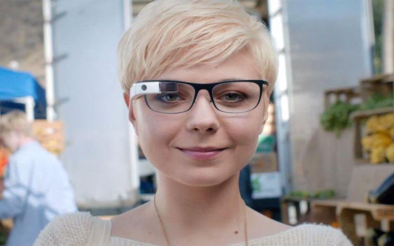 Google Glass Terbaru Ubah Jari Sebagai Kamera