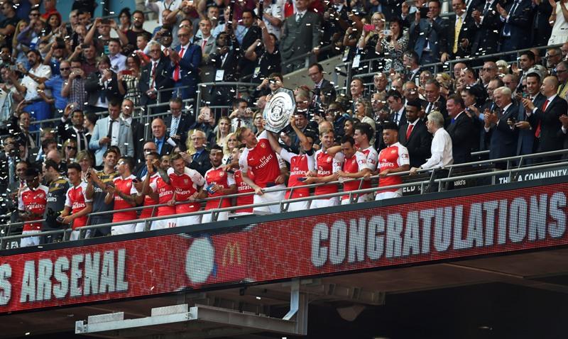 Taklukan Chelsea, Arsenal Pertahankan Gelar