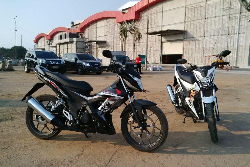New Honda Sonic 150R bukan generasi penerus Honda Sonic lawas (Santo/Okezone)