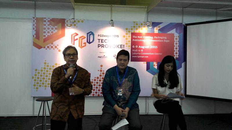 Pameran Industri Grafika FGD Expo 2015 Digelar di JCC