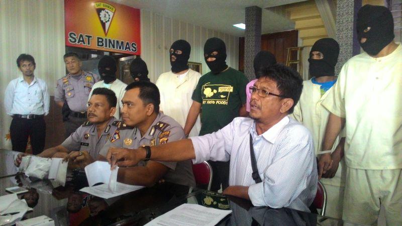 Polisi Banda Aceh Ringkus Tujuh Pengedar Dan Pengguna Narkoba Okezone News