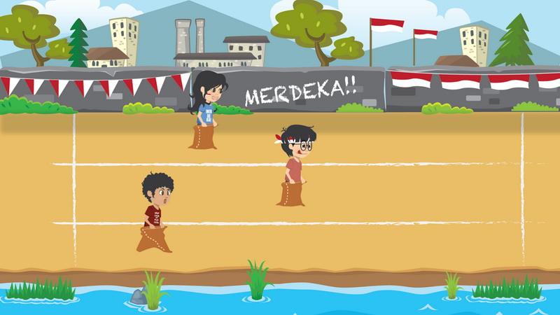 Gambar Ilustrasi Tema Kemerdekaan Indonesia Game Karung Merdeka Di Android Sambut Hut Ke 70 Ri Okezone Techno