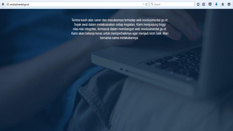 Website Senilai Rp140 Miliar Harus Ditelusuri