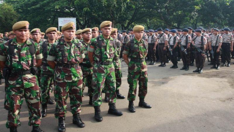 Saat Bentrok TNI-Polri di Polman Terdengar Empat Kali Tembakan