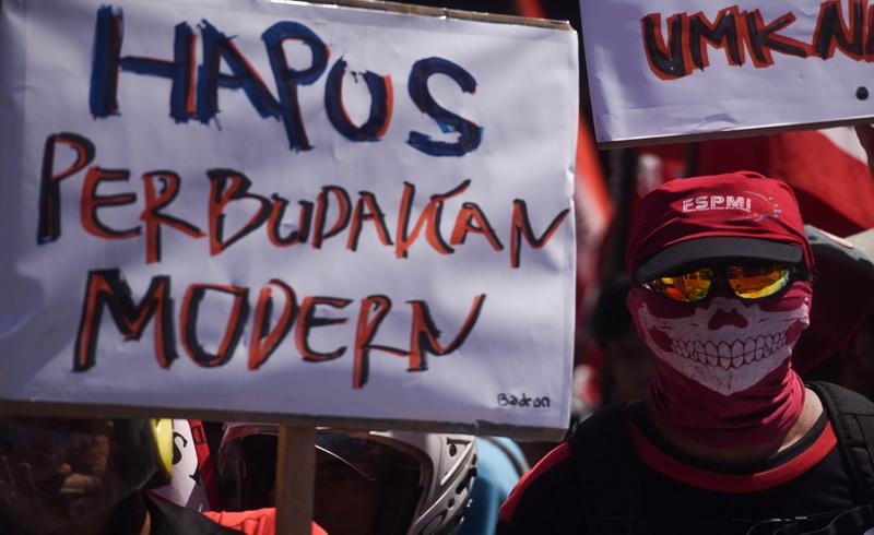 Buruh Sesalkan Sikap Jokowi