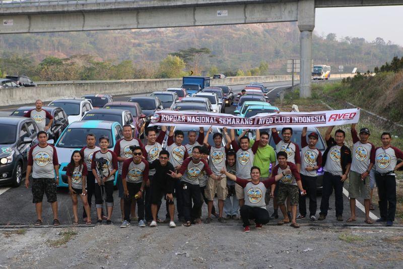 Komunitas Chevrolet Aveo Touring Dan Resmikan Chapter Baru