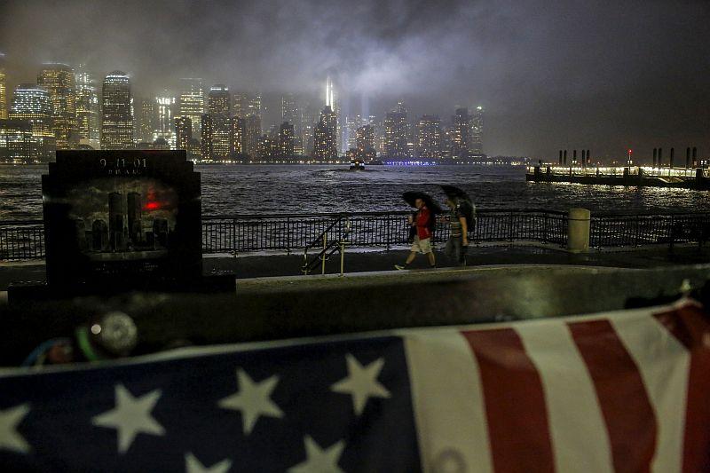 Suasana di New York menjelang peringatan 9/11. (Foto: Reuters)