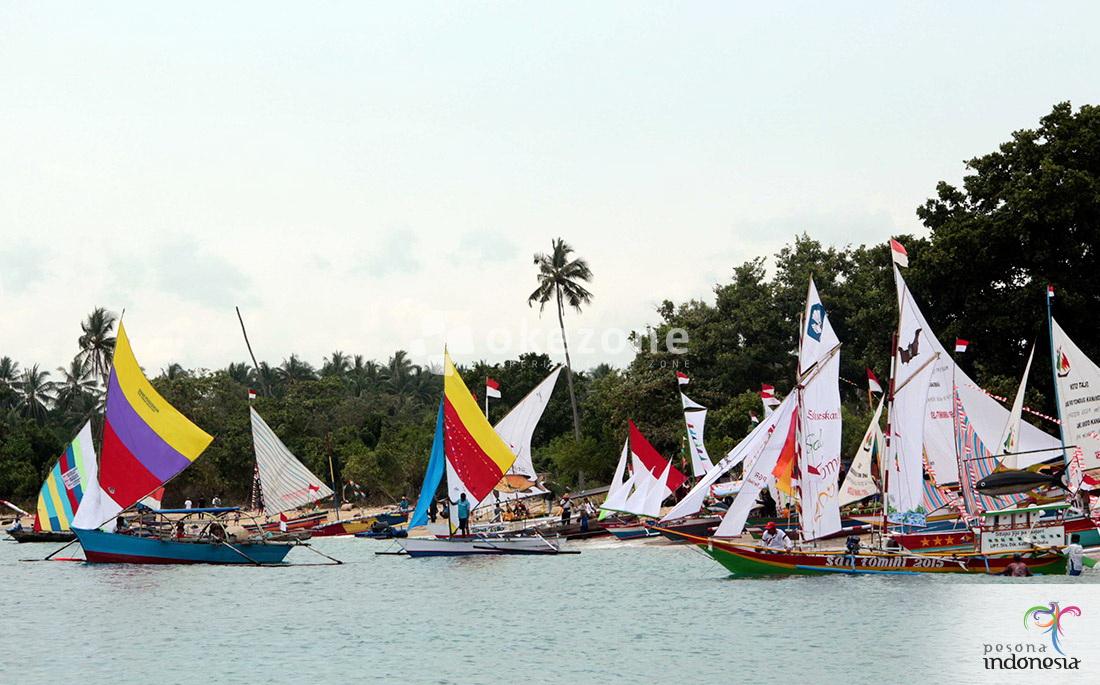 Indonesia Raya Berkumandang Di Lokasi Sail Tomini 2015 Okezone Lifestyle