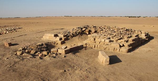 16 Piramida Kuno Ditemukan Dekat Pekuburan