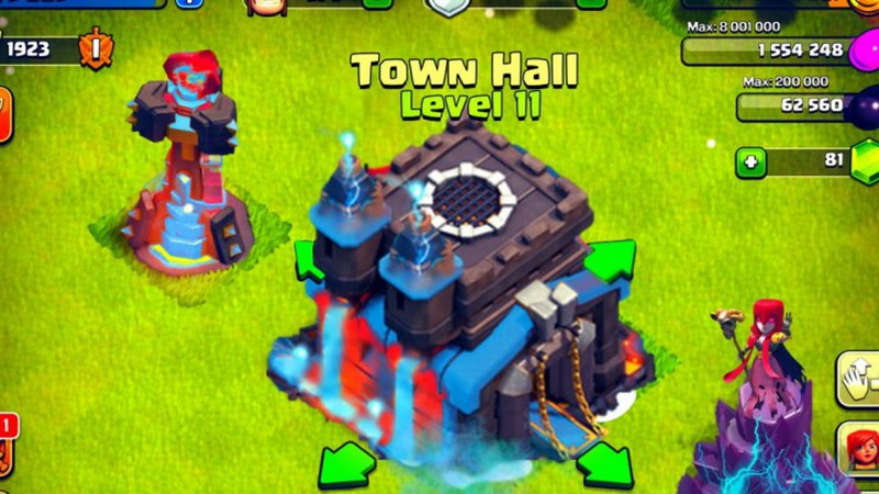 Update Clash of Clans Bakal Hadirkan TH Level 11 : Okezone Techno