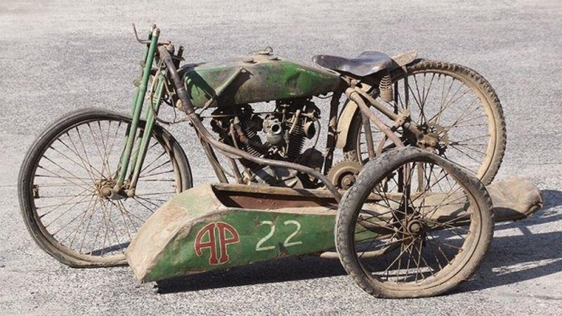 Kondisi Rongsok Motor Harley Dilelang Rp8 Miliar Okezone News