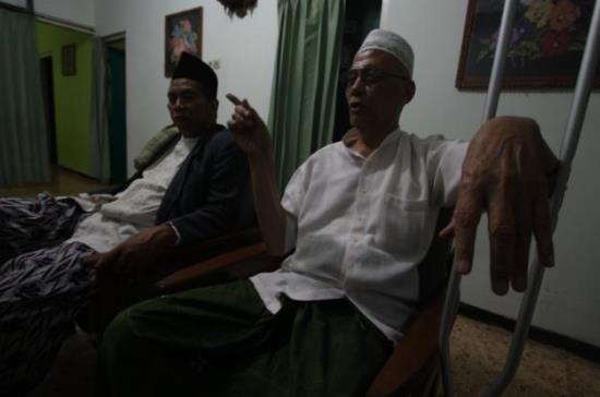 Chudlori (kanan). (Foto: Solichan/Okezone)