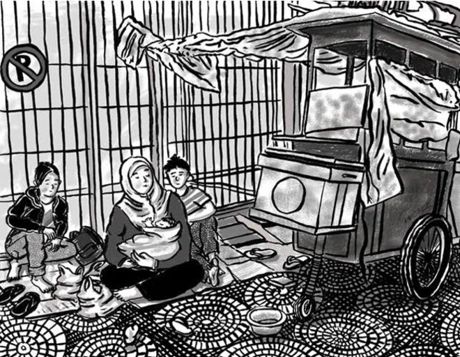 Kisah Pilu Seorang Ibu, Hidupi 10 Anak