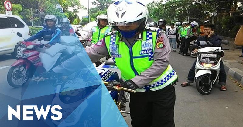 Polisi Dilarang Tilang Kendaraan Telat Bayar Pajak