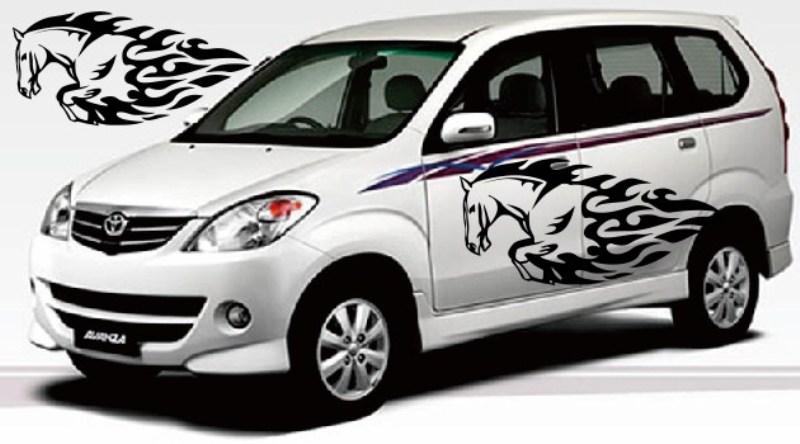 Modifikasi Mobil MPV Pakai Cutting Sticker biar ...