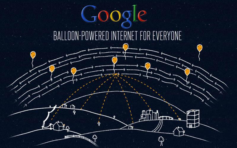 Google Minta Izin Uji Internet Balon Udara