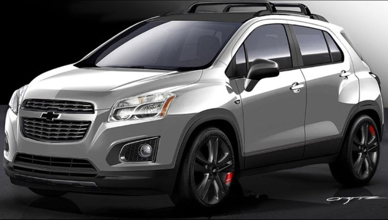 Crossover Chevrolet Trax Dimodifikasi Bergaya Racing Okezone News