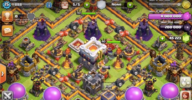 Penampakan Town Hall 11 Game Clash of Clans
