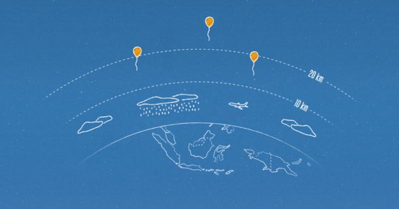 2016, Balon Google Bakal Melayang di Langit Indonesia