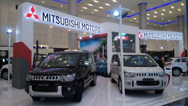 Otomotif Mail: Mitsubishi Targetkan Jual 155 Mobil Di Pameran Otomotif