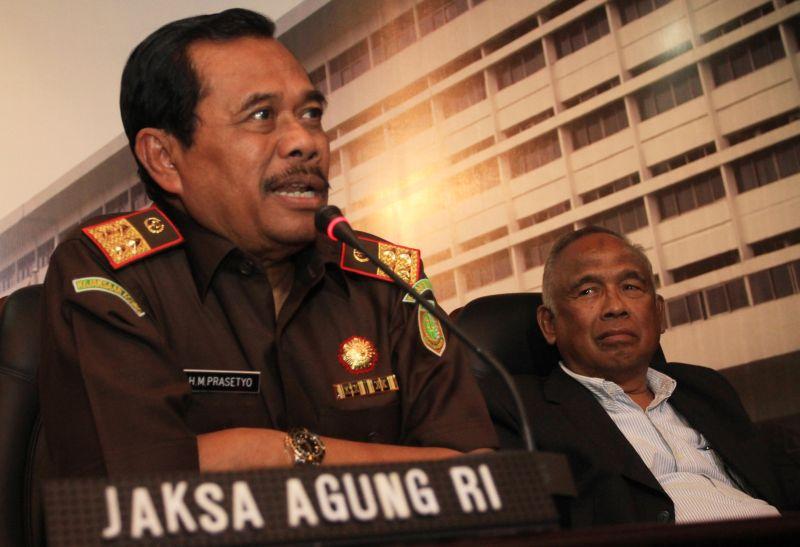 Jaksa Agung, M Prasetyo (foto: Okezone)