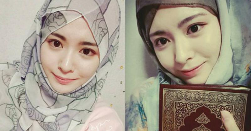 Kecantikan Mualaf Asal Korea Ini Hebohkan Netizen