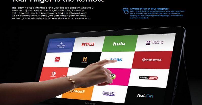 Tablet Raksasa Samsung Akhirnya Mendarat di Pasar