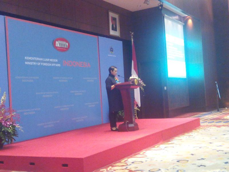 Menteri Luar Negeri RI Retno Marsudi (Foto: Emirald Julio)