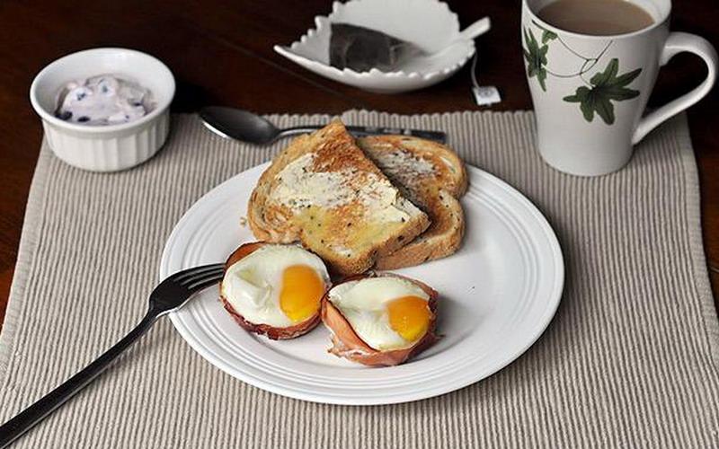 Cara Mengecilkan Paha dan Betis  dengan sarapan pagi