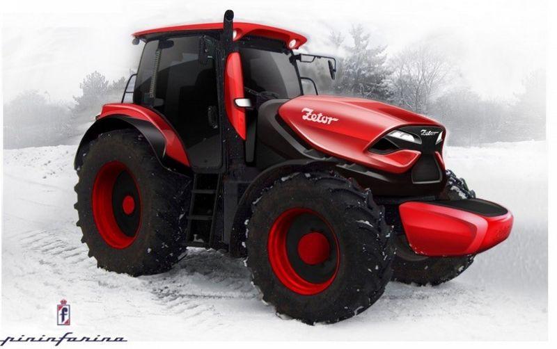Traktor Sporty Buatan Rumah Modifikasi Ferrari : Okezone News