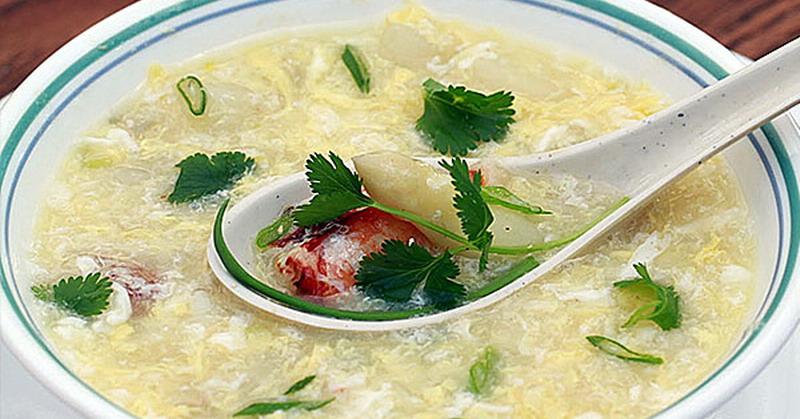 Resep Sup Jagung Kepiting Asparagus Hangatkan Tubuh : Okezone Lifestyle
