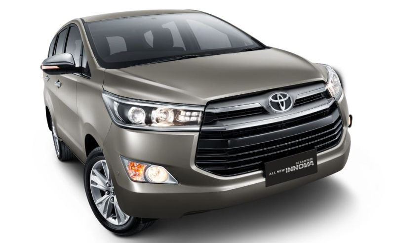 The All-New Toyota Innova Official Glide, List Price