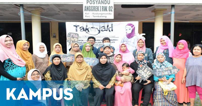 Mahasiswa FKM Undip Kenalkan TAKOYAKI Pencegah Kematian Ibu Hamil