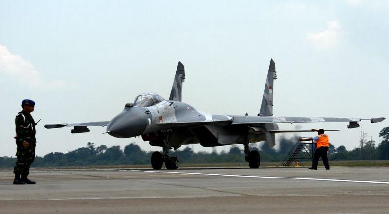 Pesawat Tempur Sukhoi (Foto: Dok. Antara)