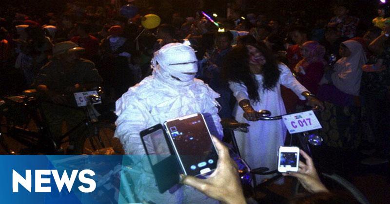 Sosok Kuntilanak di Jalan Sendang Raya Hebohkan Netizen
