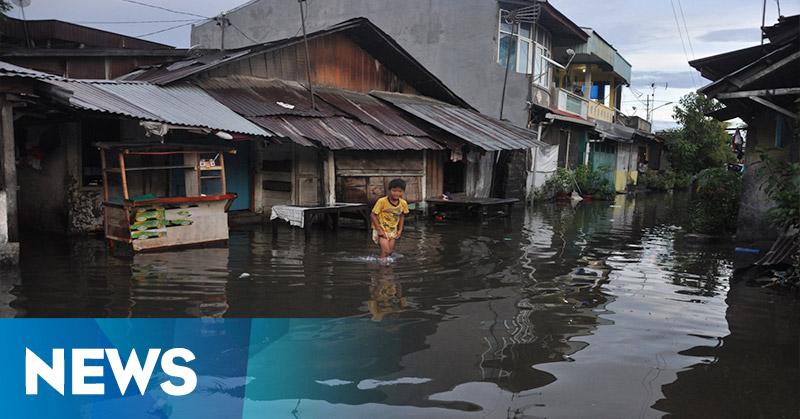 Padang Kebanjiran, Warga Tak Bisa Tidur