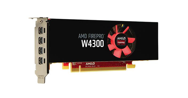 Unjuk Gigi AMD FirePro W4300 Dukung Resolusi 4K & 5K