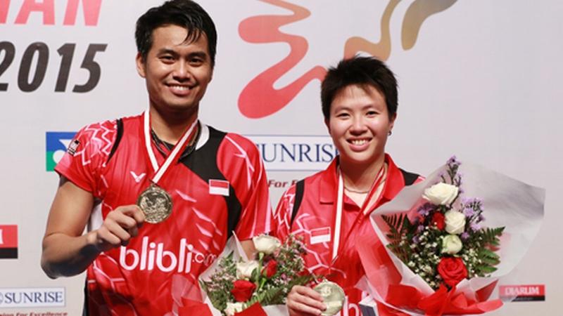 Owi Butet Juara Indonesian Masters 2015 : Okezone Sports
