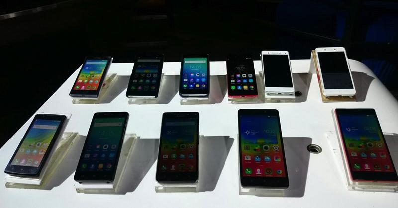 Lenovo Pamerkan Jajaran Lengkap Smartphone 4G di Indonesia